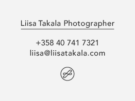 Website of Photographer Liisa Takala